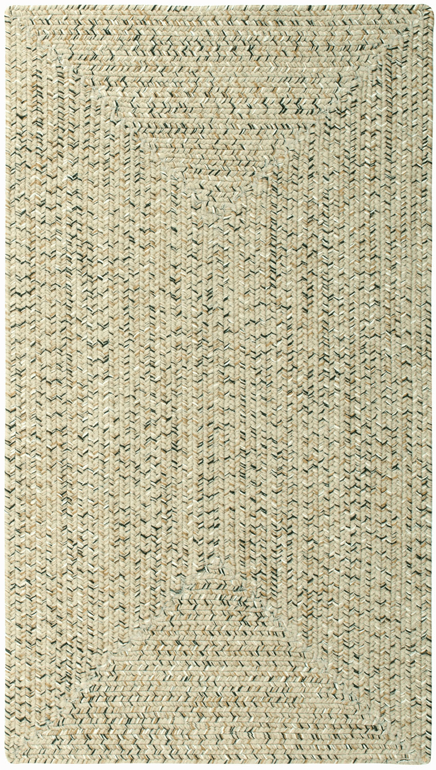 Hand-Braided Sandy Beach Rug