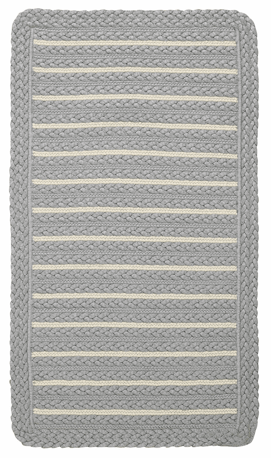 Hand-Braided Smoke Beige Rug