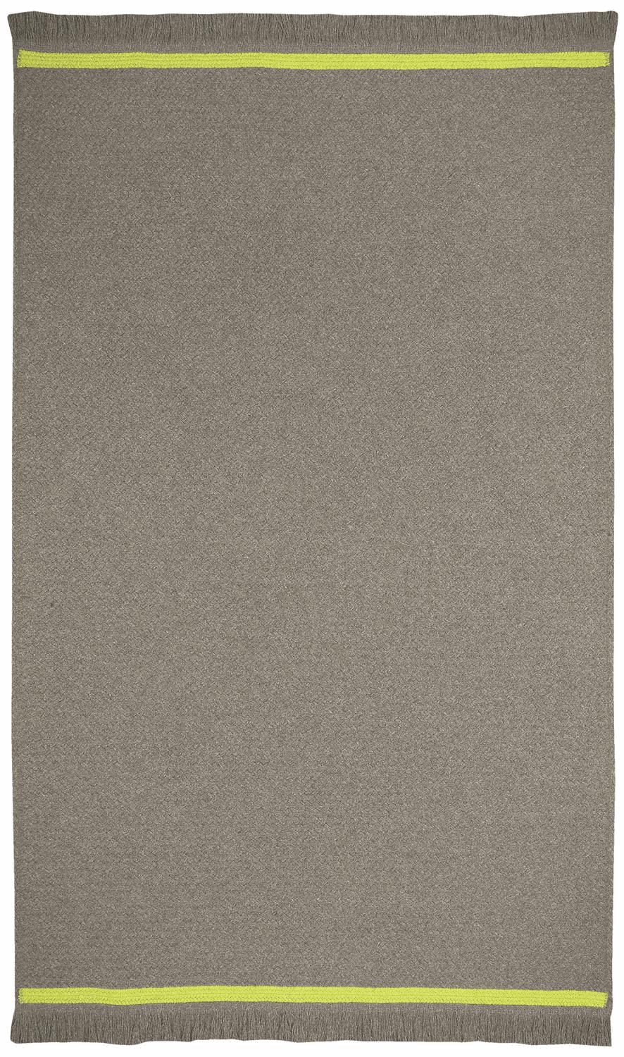 Hand-Braided Smoke Green Rug