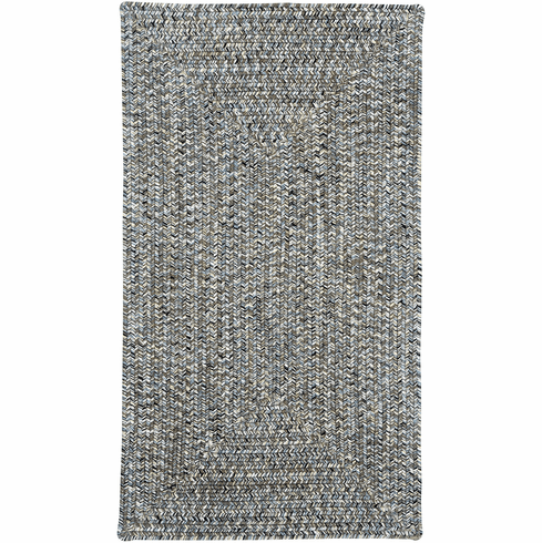 Hand-Braided Smoke Rug