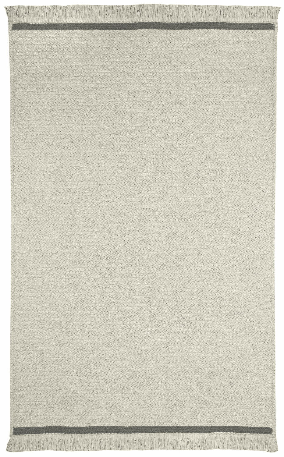 Hand-Braided Stone Smoke Rug