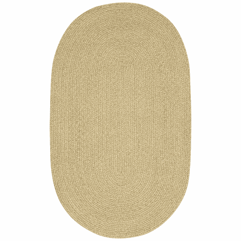 Hand-Braided Tan Hues Rug