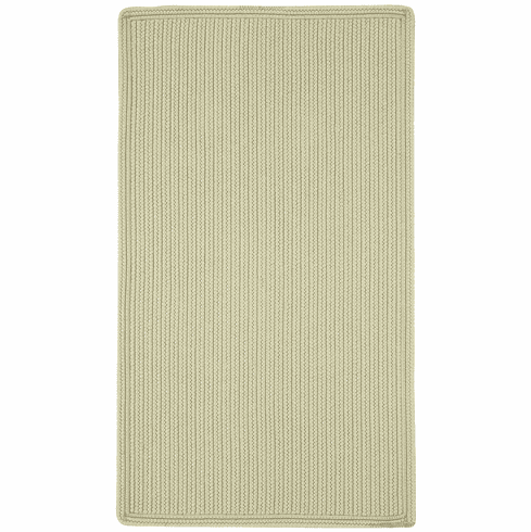Hand-Braided Tan Rug