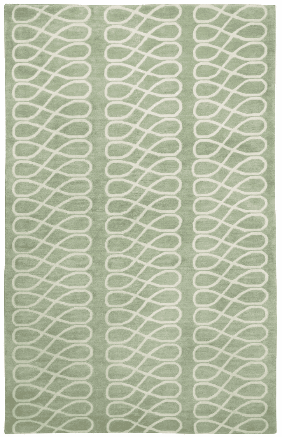 Hand Knotted Basil Cream Rug