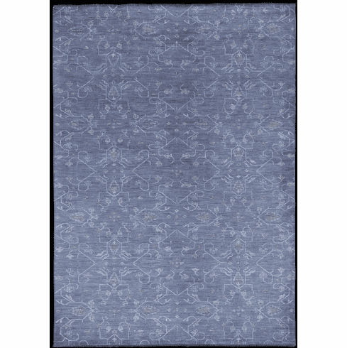 Hand Knotted Biscuit Rug