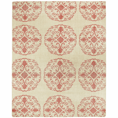 Hand Knotted Cardinal Rug
