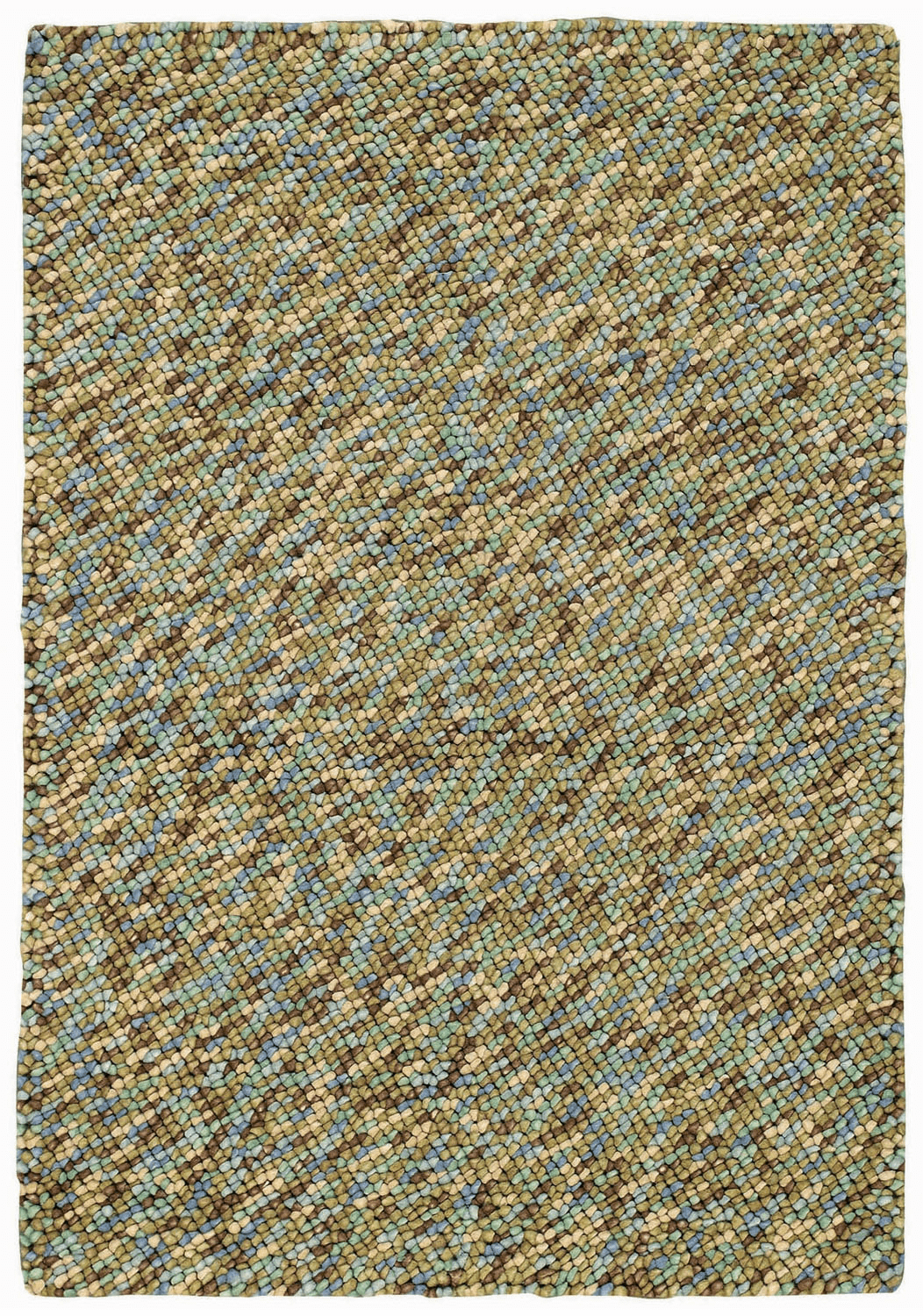 Hand Knotted Carribbean Rug