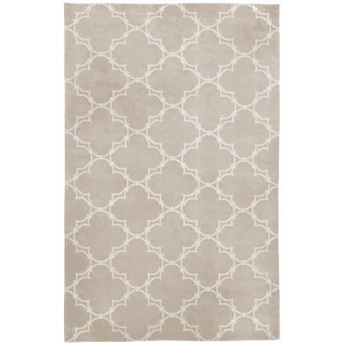Hand Knotted Champagne Rug