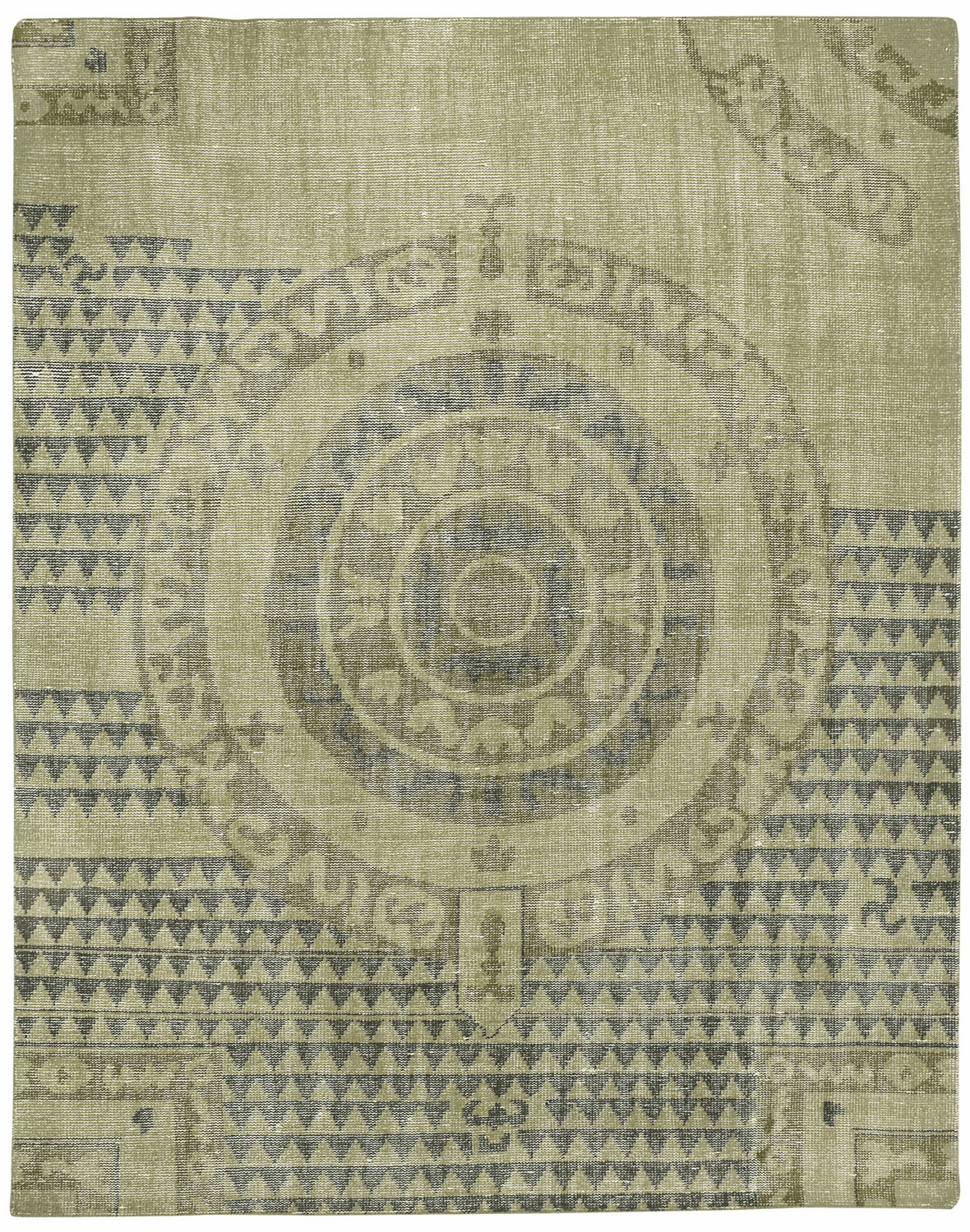 Hand Knotted Chestnut Rug