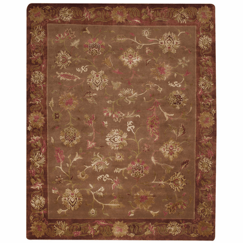 Hand Knotted Earth Rug