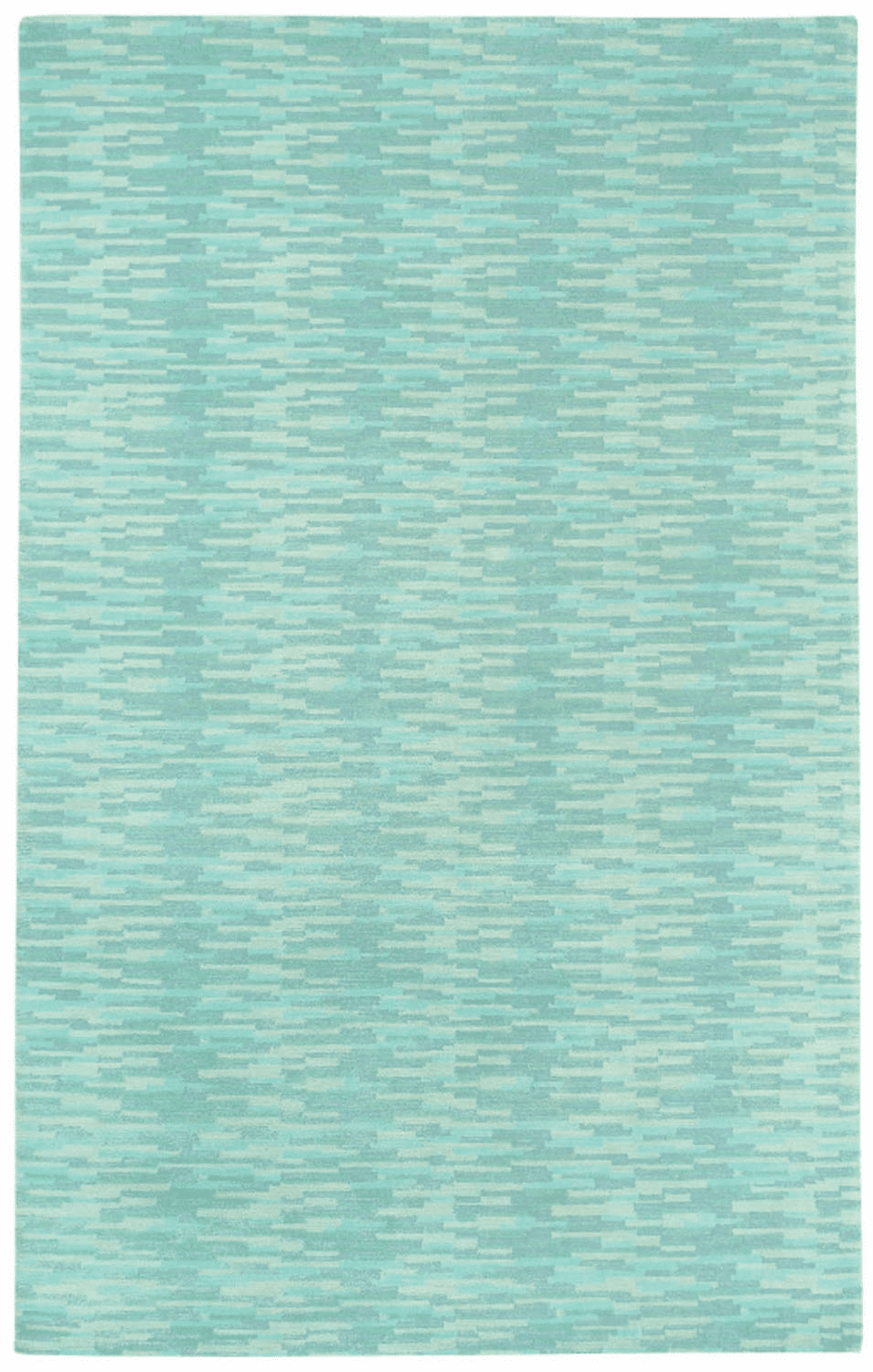 Hand Knotted Green Rug