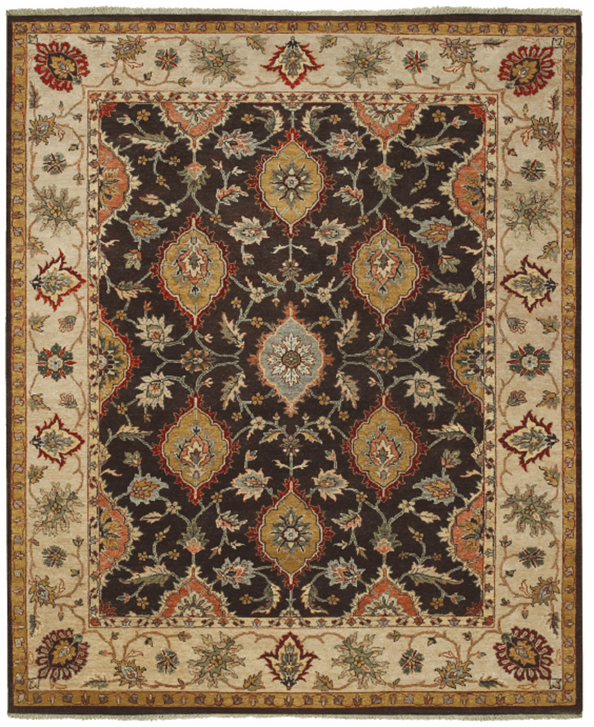 Hand Knotted Java Rug