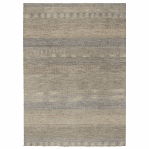 Hand Knotted Light Beige Rug