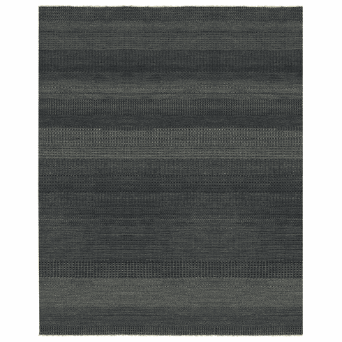 Hand Knotted Midnight Blue Rug