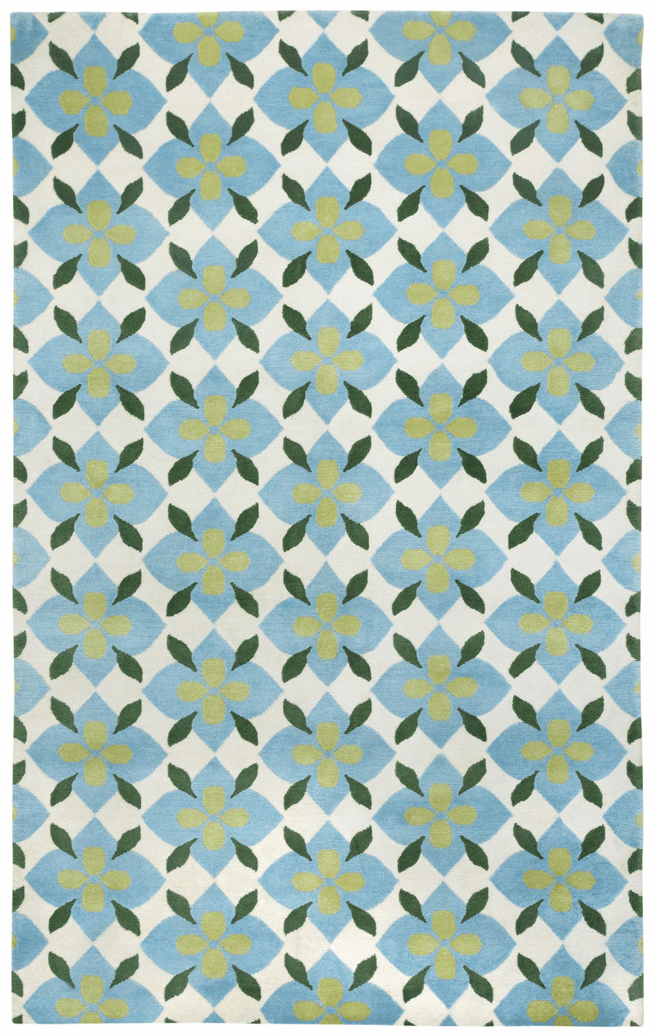 Hand Knotted Moss Pine Rug