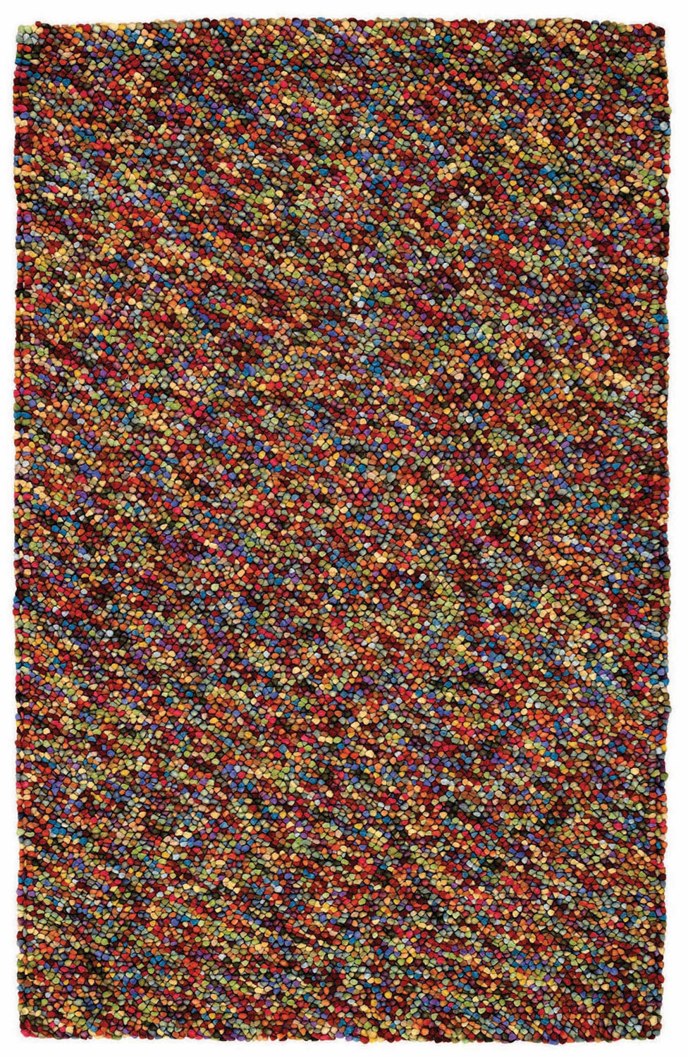 Hand Knotted Multi Rug