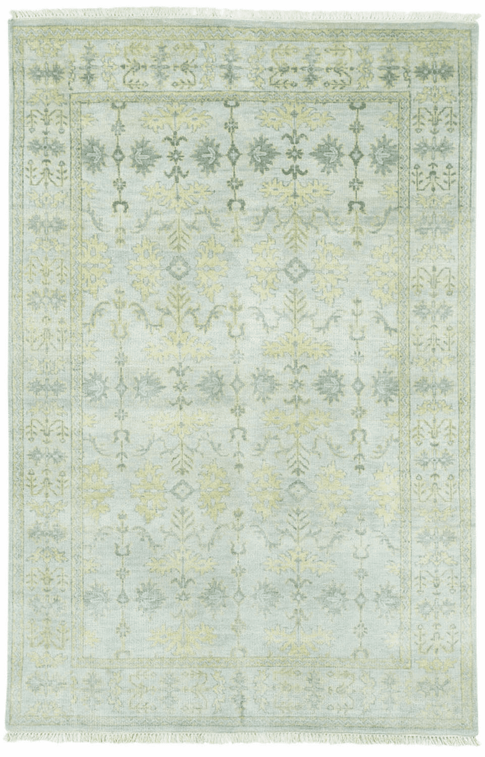 Hand Knotted Sterling Rug