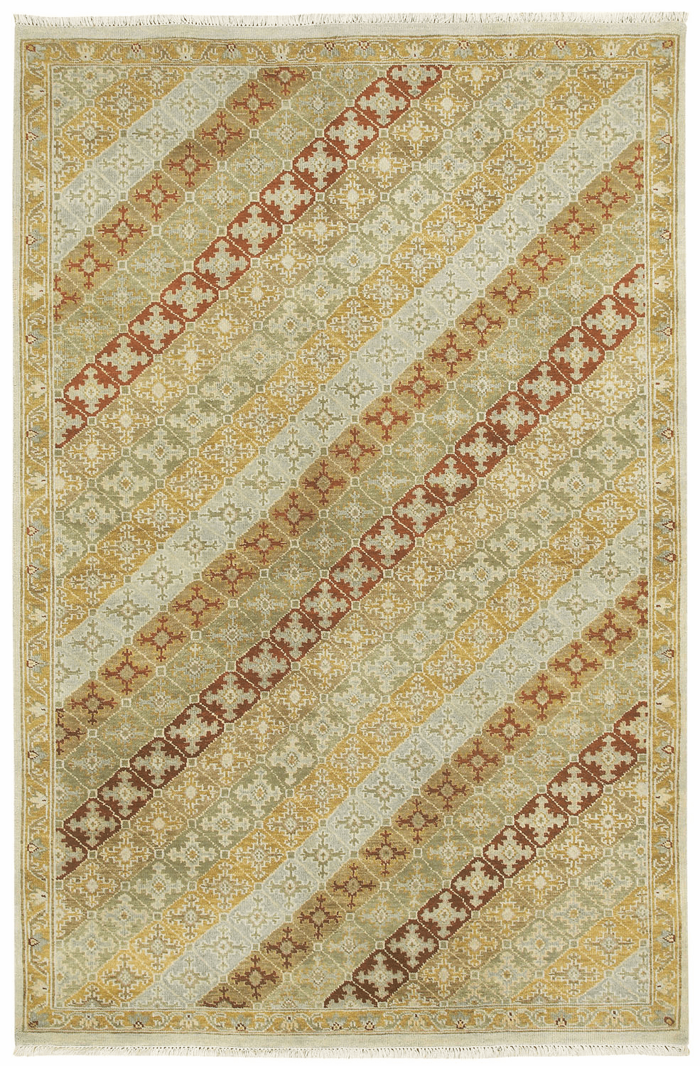 Hand Knotted Thyme Rug