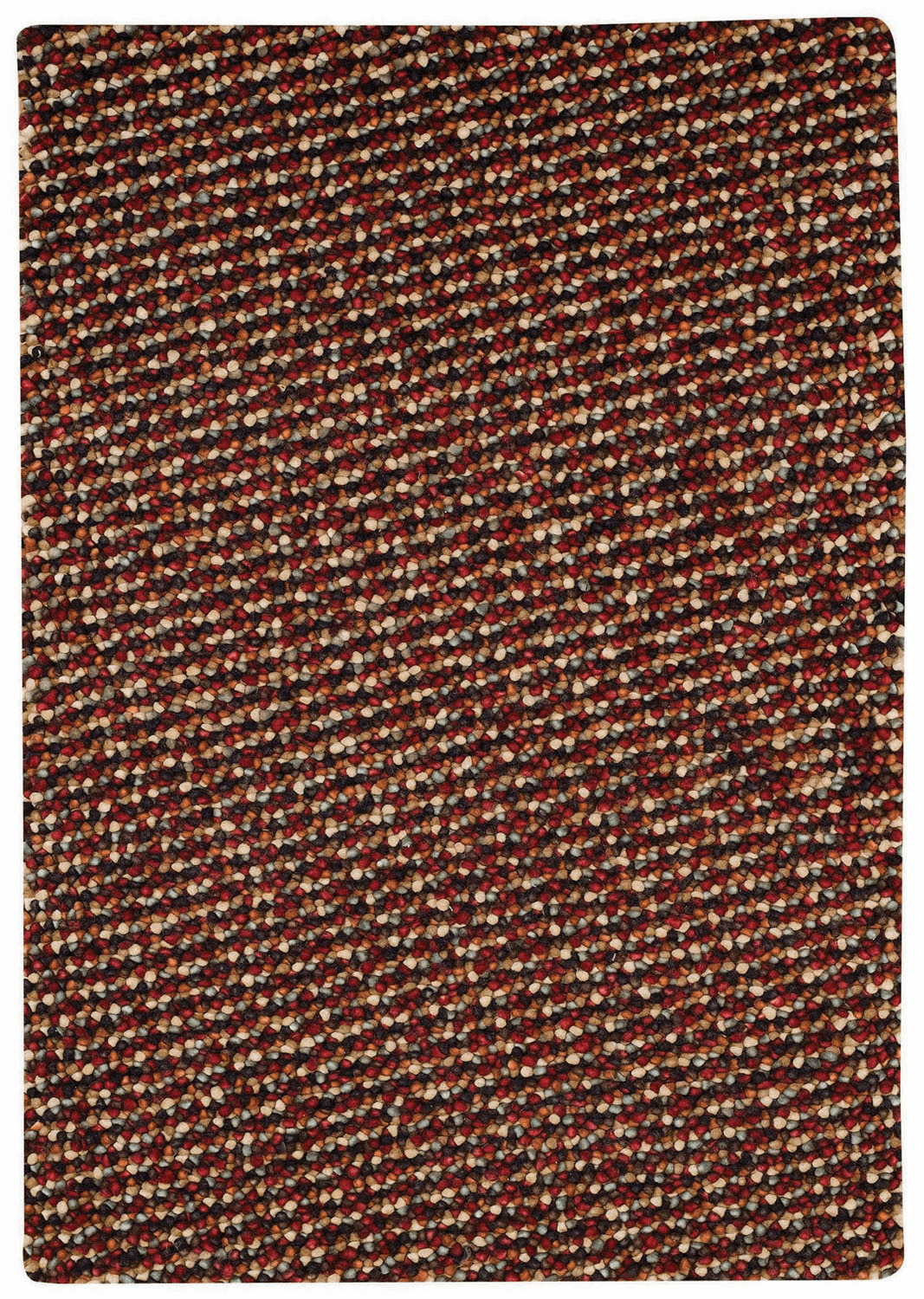Hand Knotted Wineberry Rug