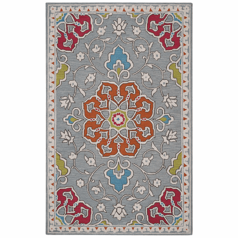 Hand Tufted Ash Rug