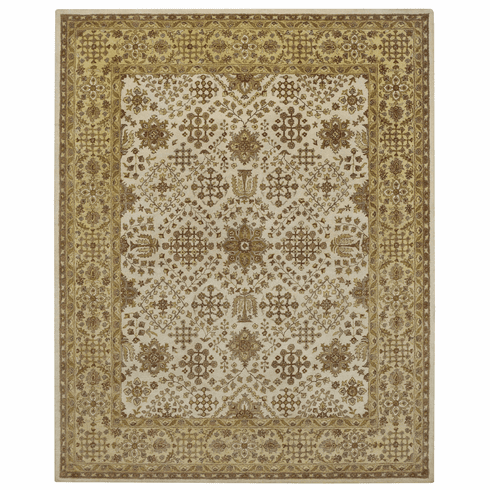 Hand Tufted Beige Cream Rug