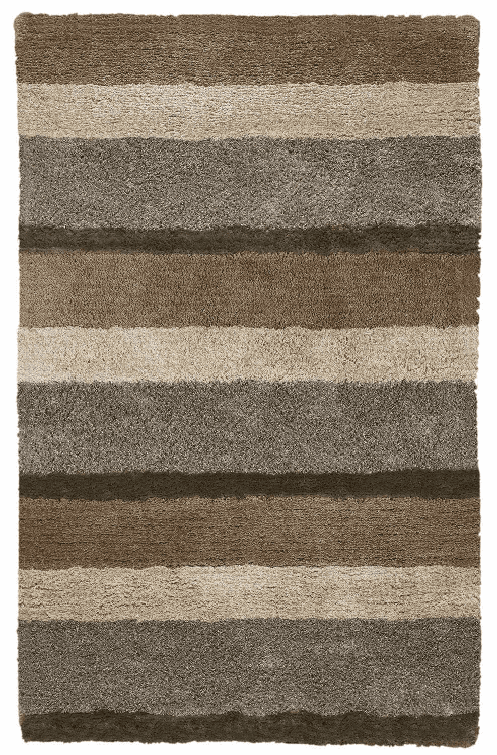 Hand Tufted Beige Multi Rug