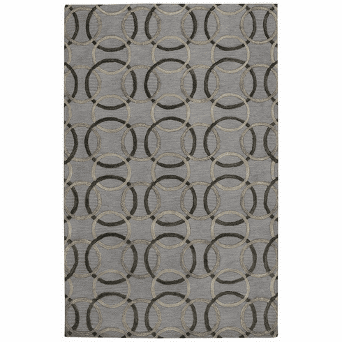 Hand Tufted Charcoal Rug
