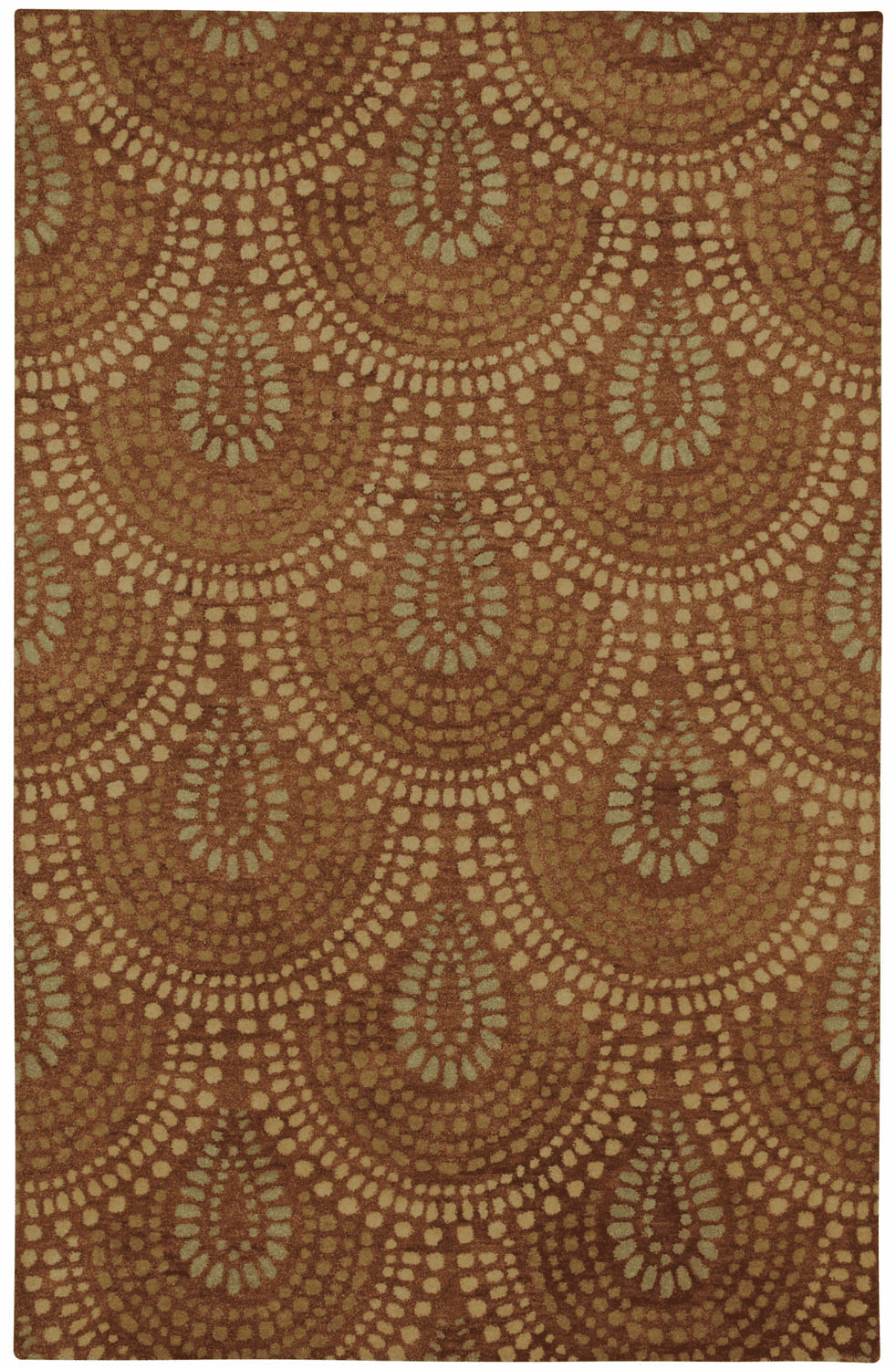 Hand Tufted Cinnamon Rug