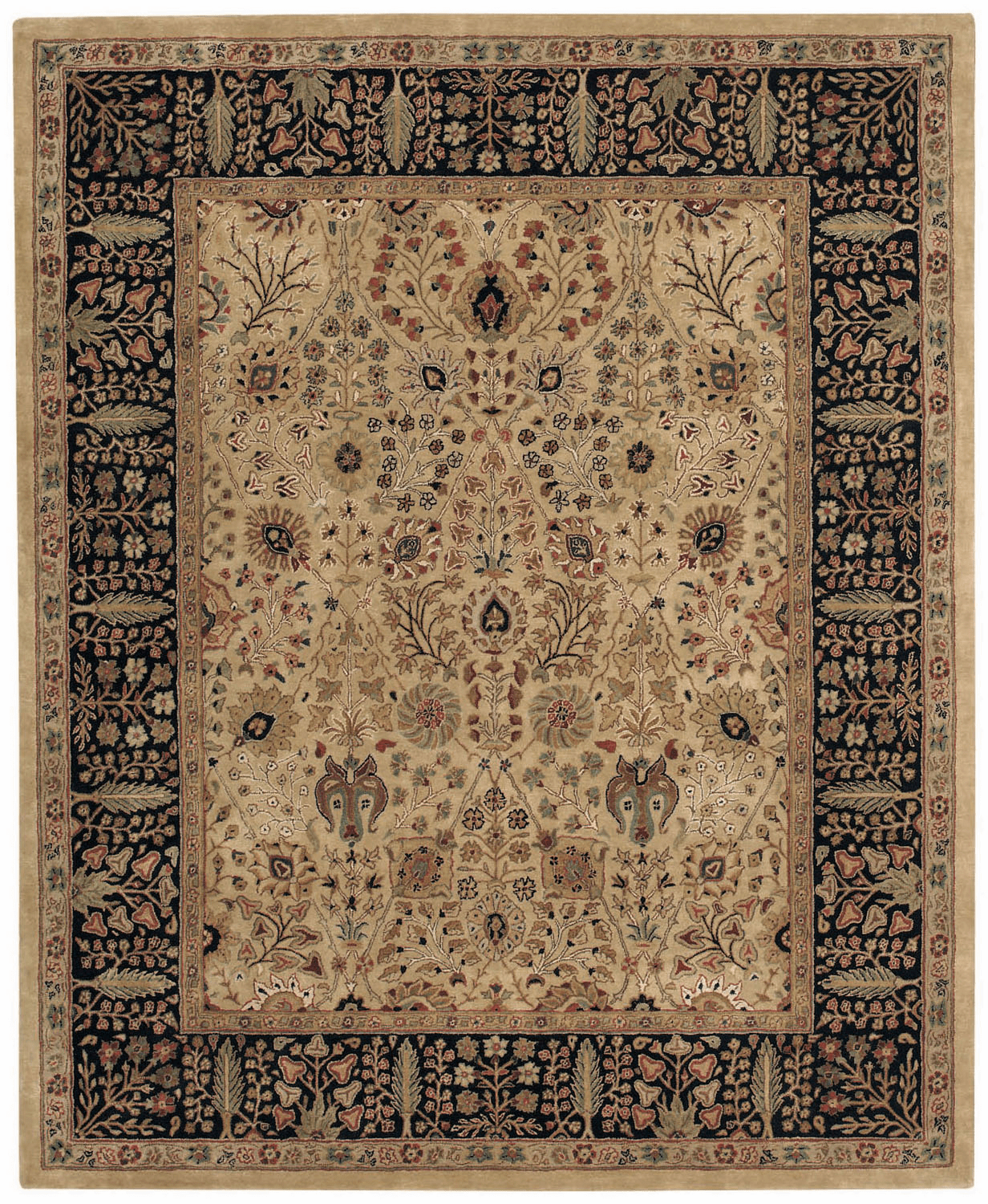 Hand Tufted Dark Beige Rug