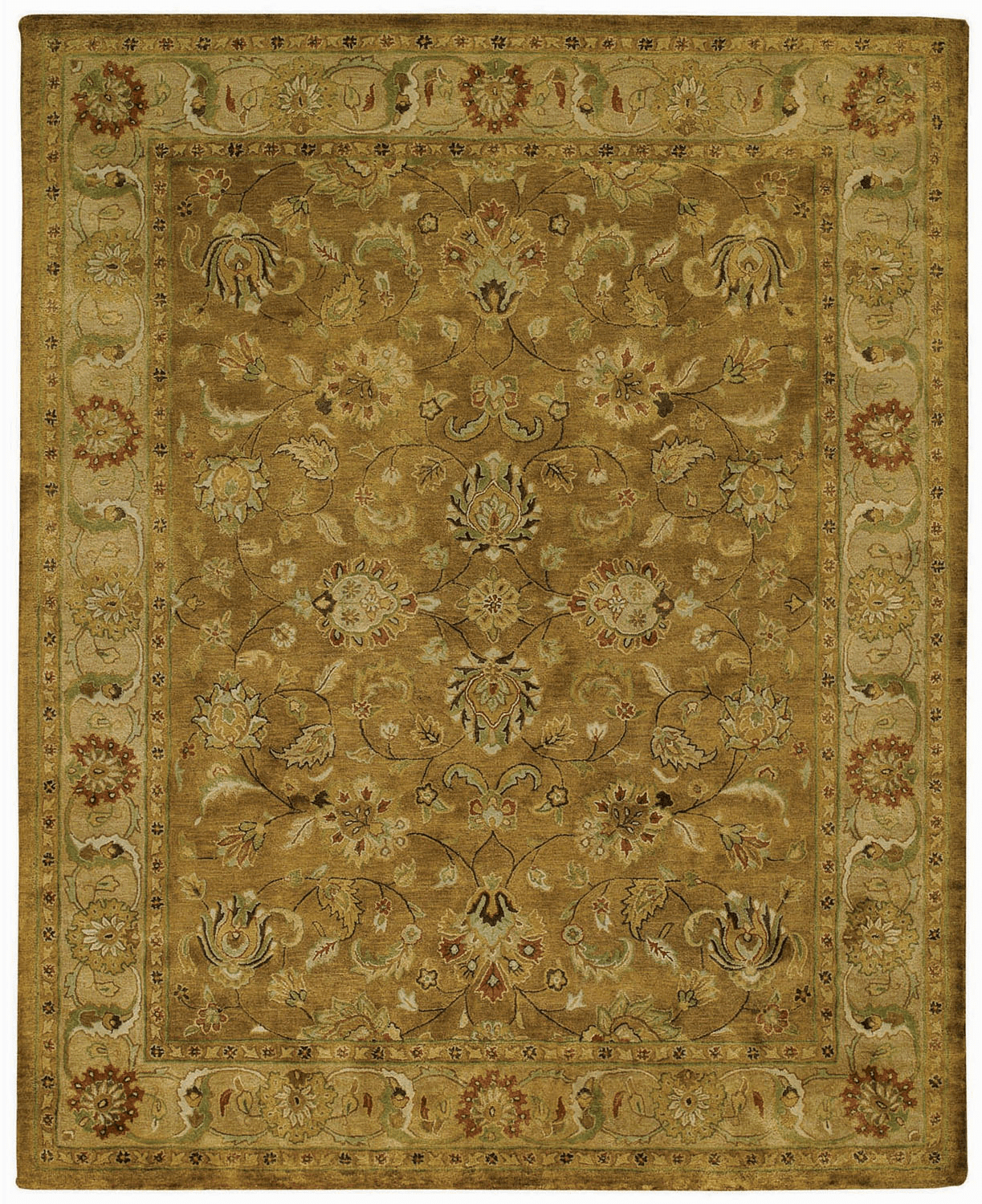Hand Tufted Golden Sage Rug