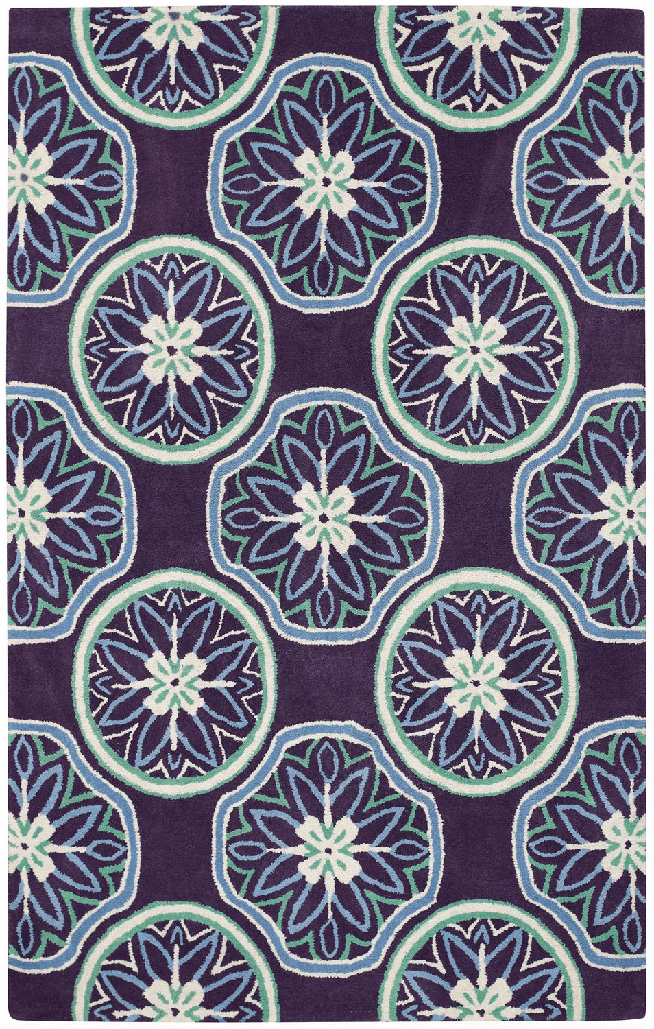 Hand Tufted Grape Rug