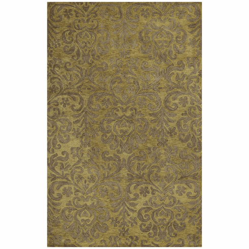 Hand Tufted Green Rug
