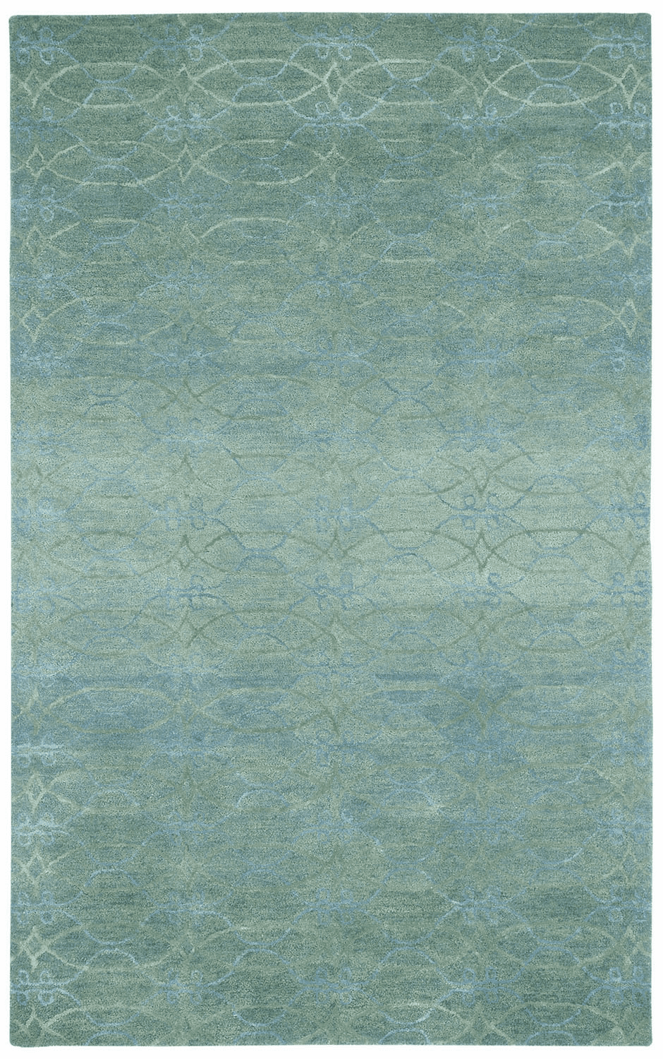 Hand Tufted Grey Azure Rug
