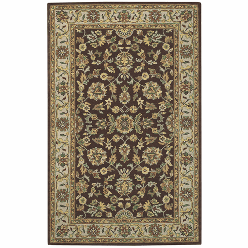 Hand Tufted Henna Blue Rug