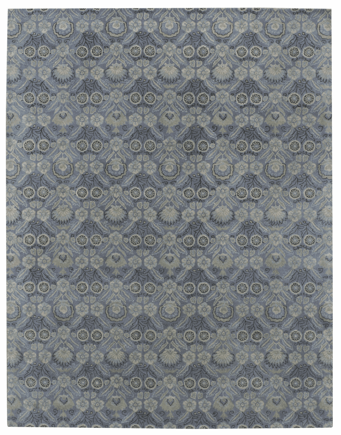 Hand Tufted Light Blue Rug