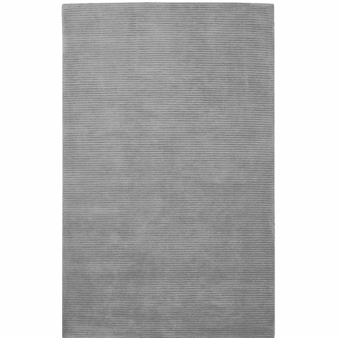 Hand Tufted Light Grey Rug