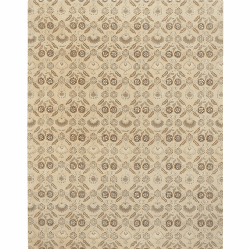 Hand Tufted Light Yellow Rug
