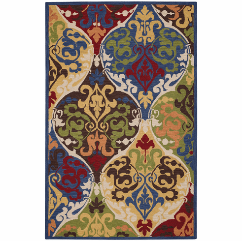 Hand Tufted Multitone Rug
