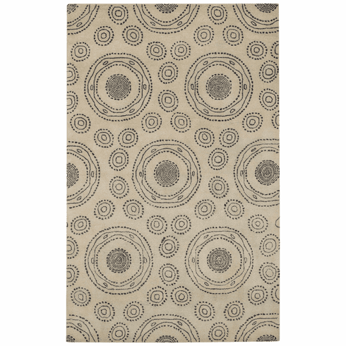 Hand Tufted Navy Rug