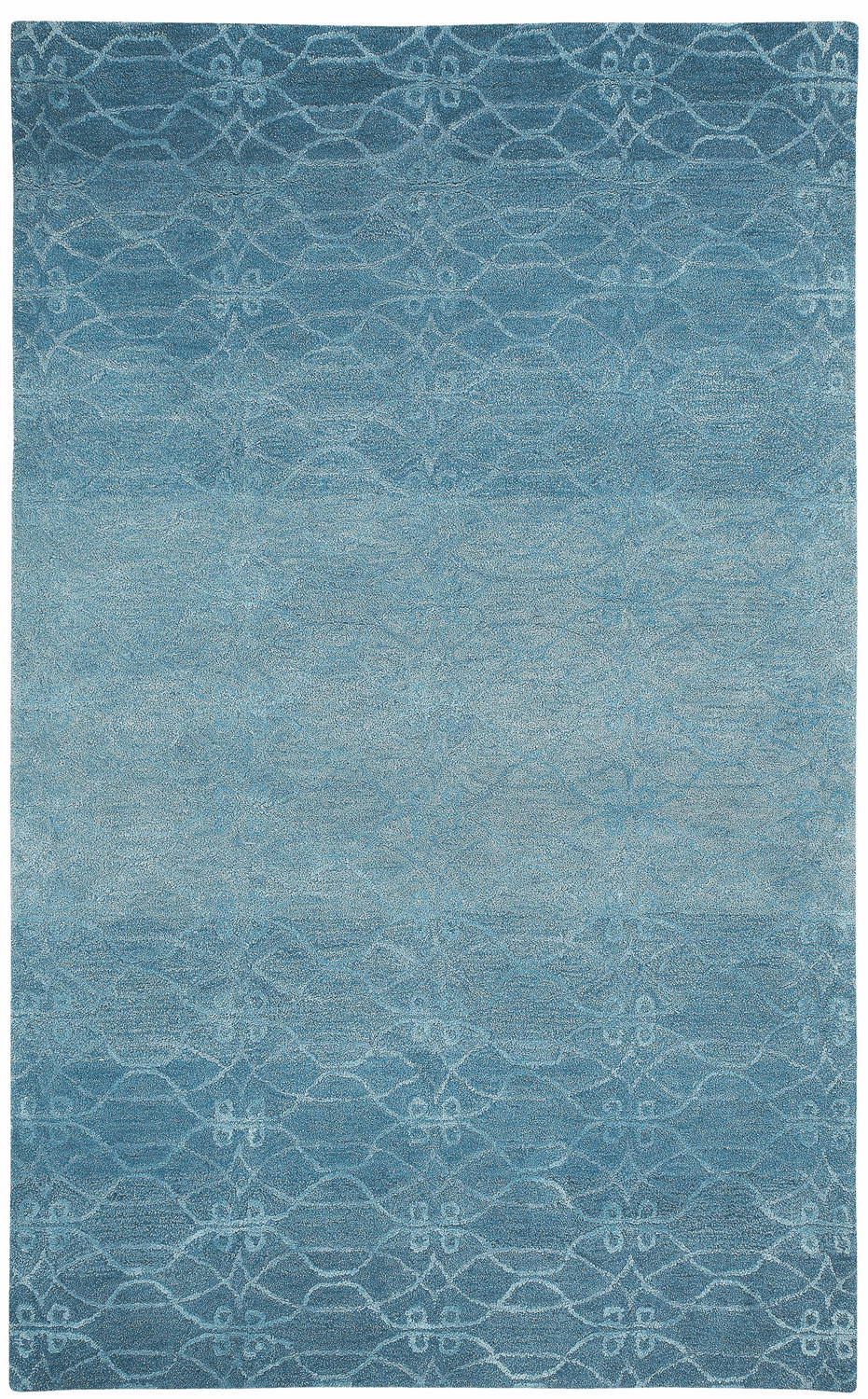 Hand Tufted Ocean Blue Rug