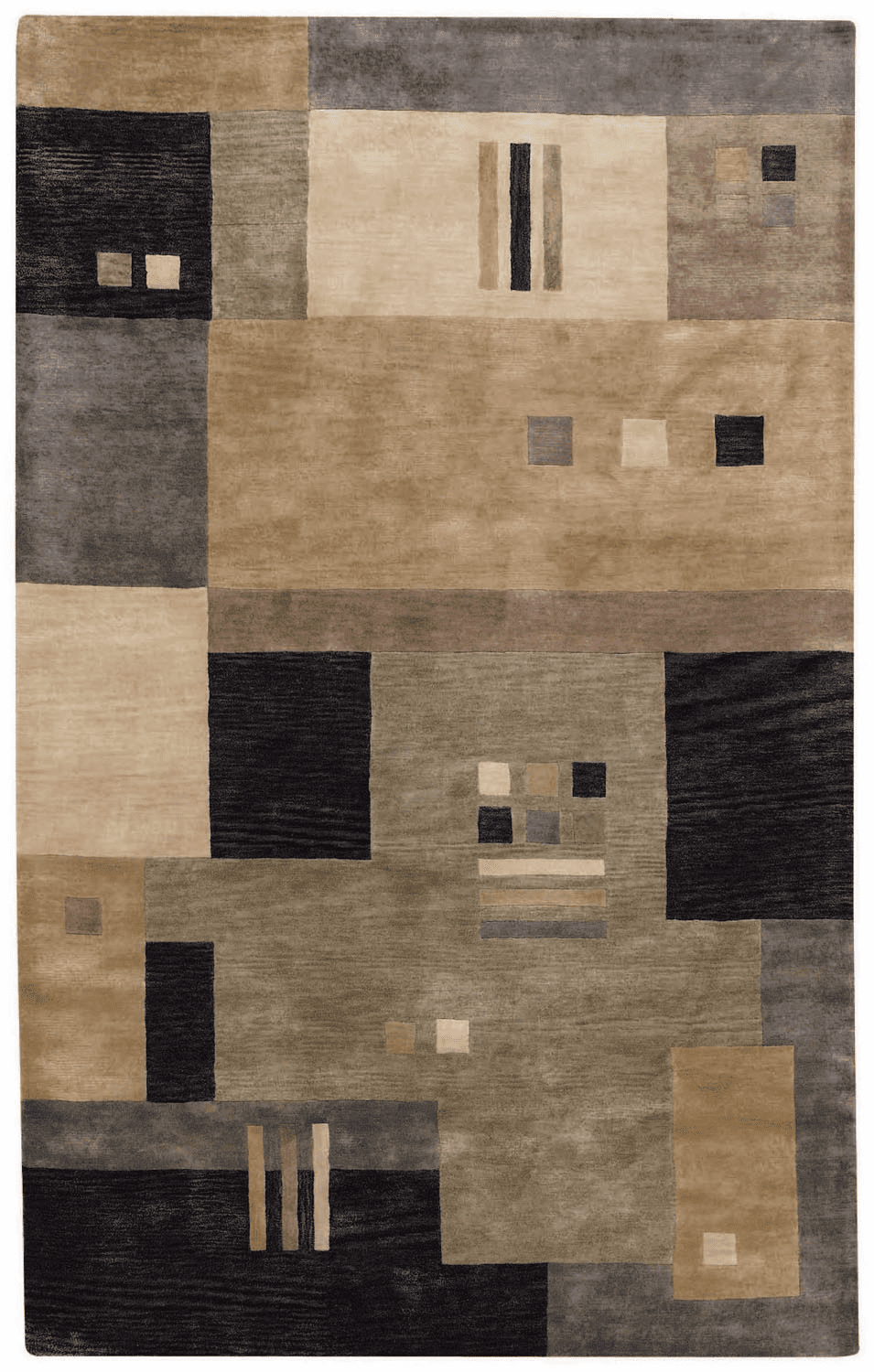 Hand Tufted Onyx Multi Rug