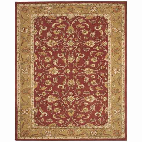 Hand Tufted Red Pepper Rug