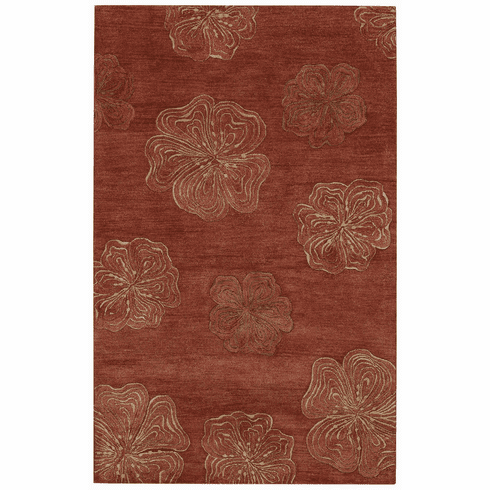 Hand Tufted Red Rug