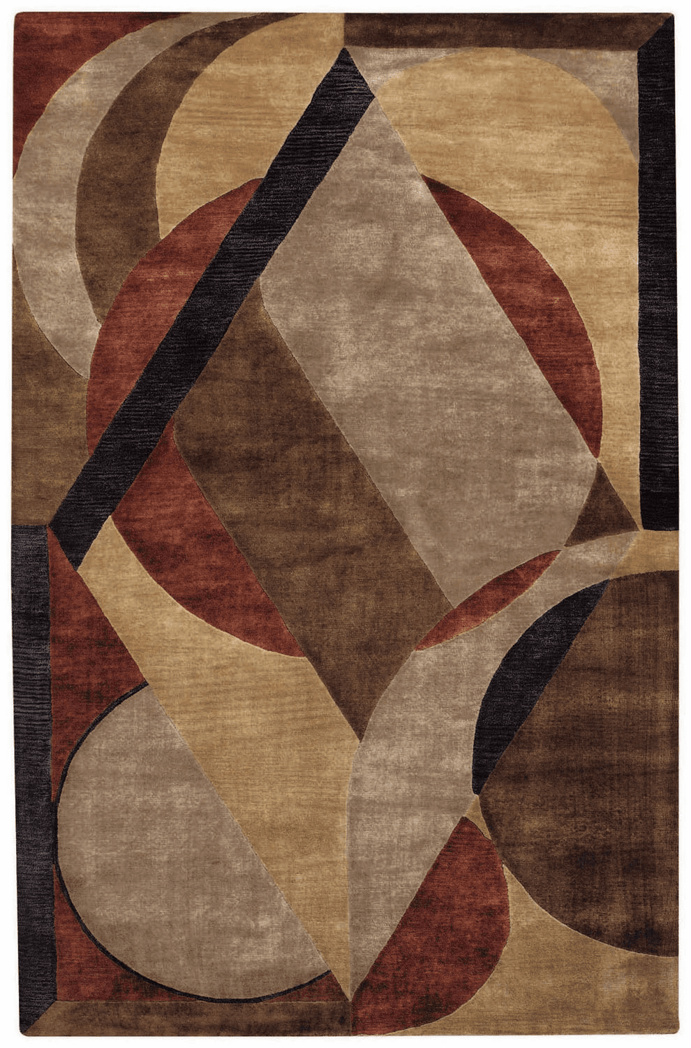 Hand Tufted Sandy Beach Multi Rug
