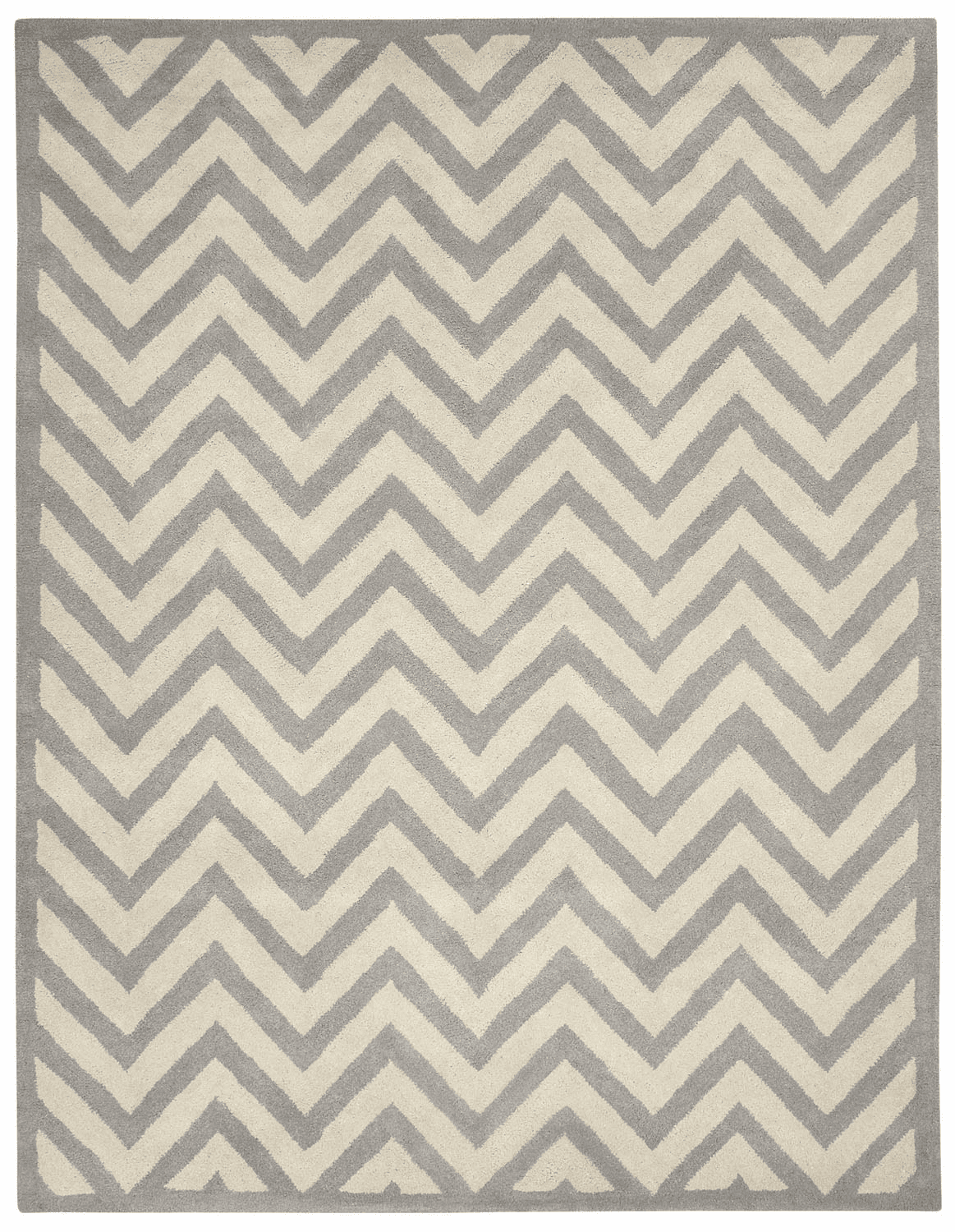 Hand Tufted Silver Rug