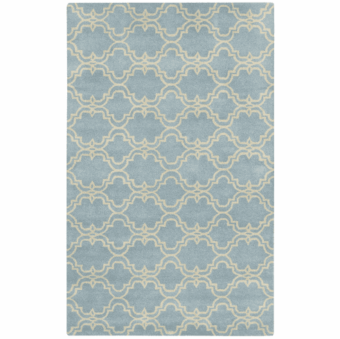 Hand Tufted Sky Blue Rug