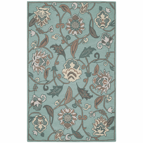 Hand Tufted Spring Green Rug