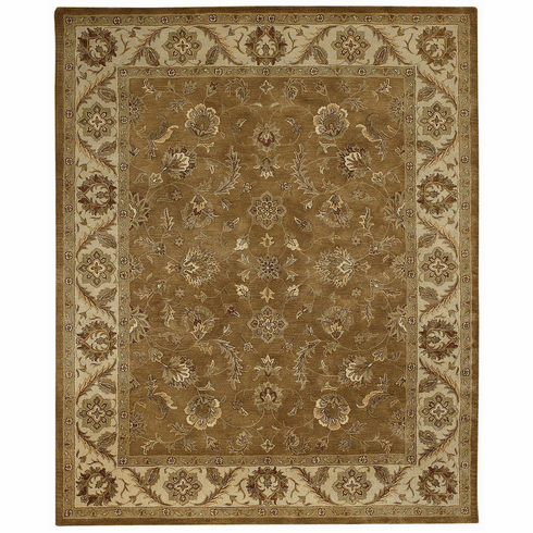 Hand Tufted Tan Rug