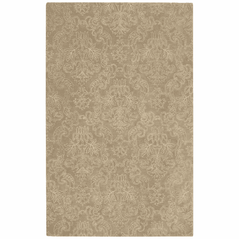 Hand Tufted Taupe Rug