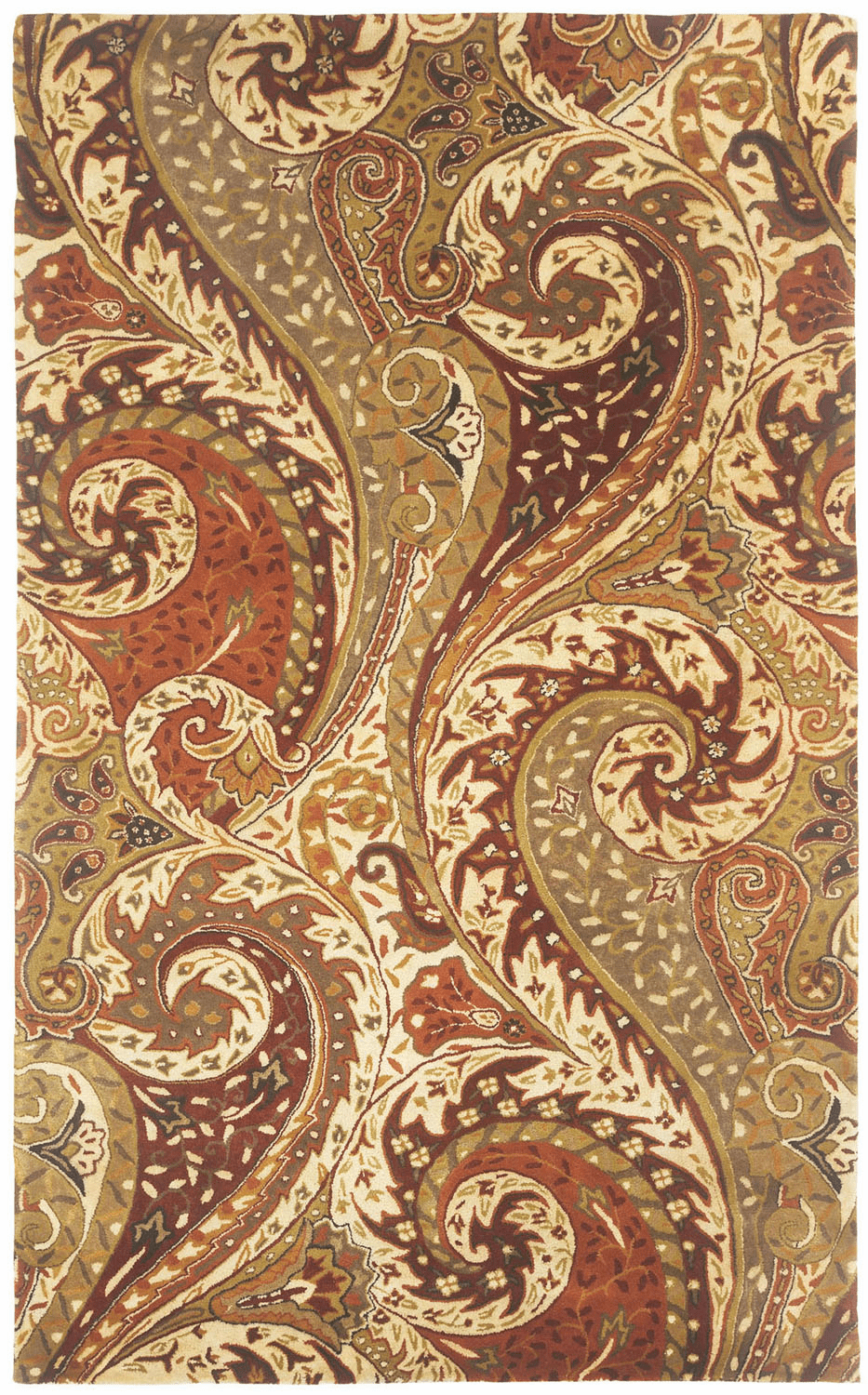 Hand Tufted Zest Multi Rug